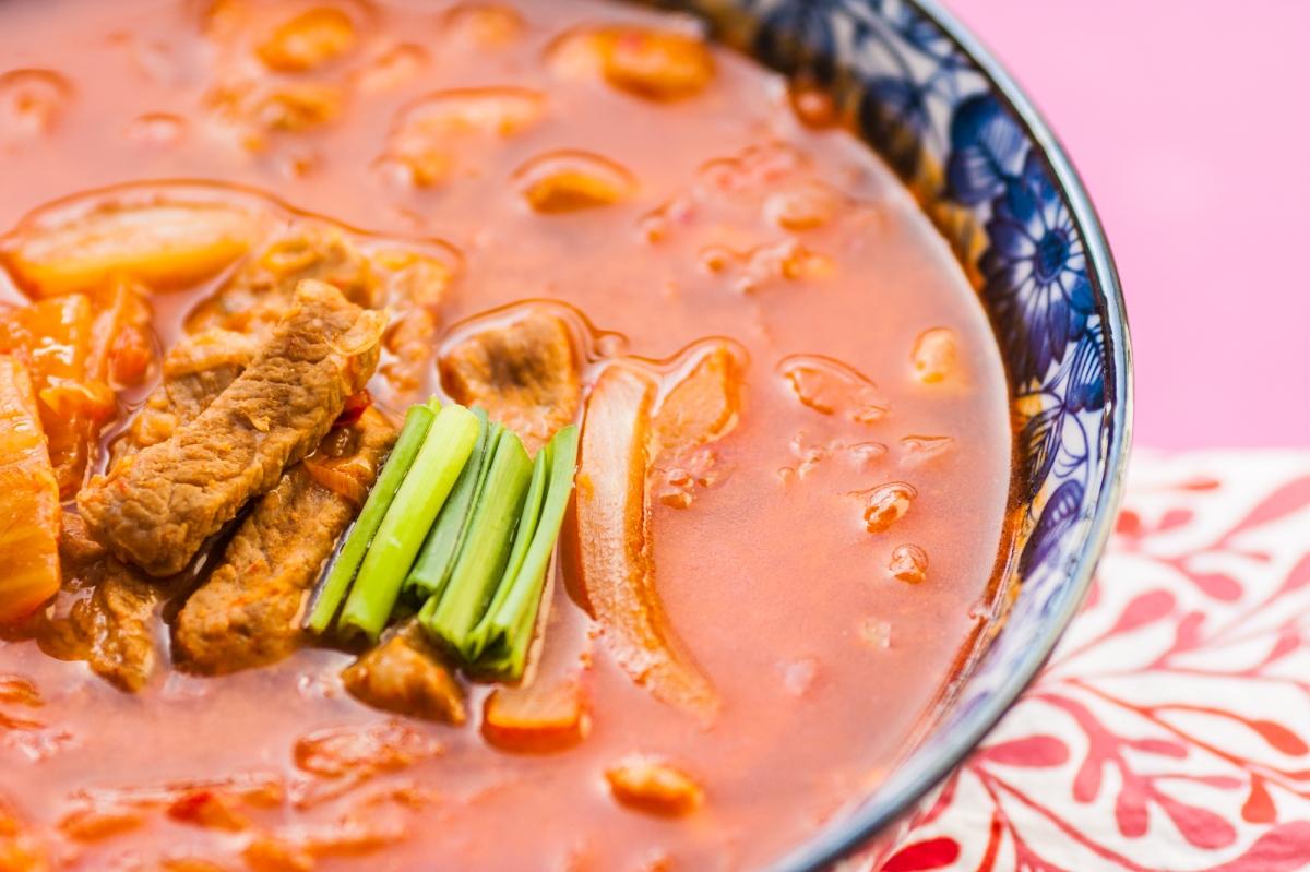 Kimchi Guk (Zupa Kimchi)
