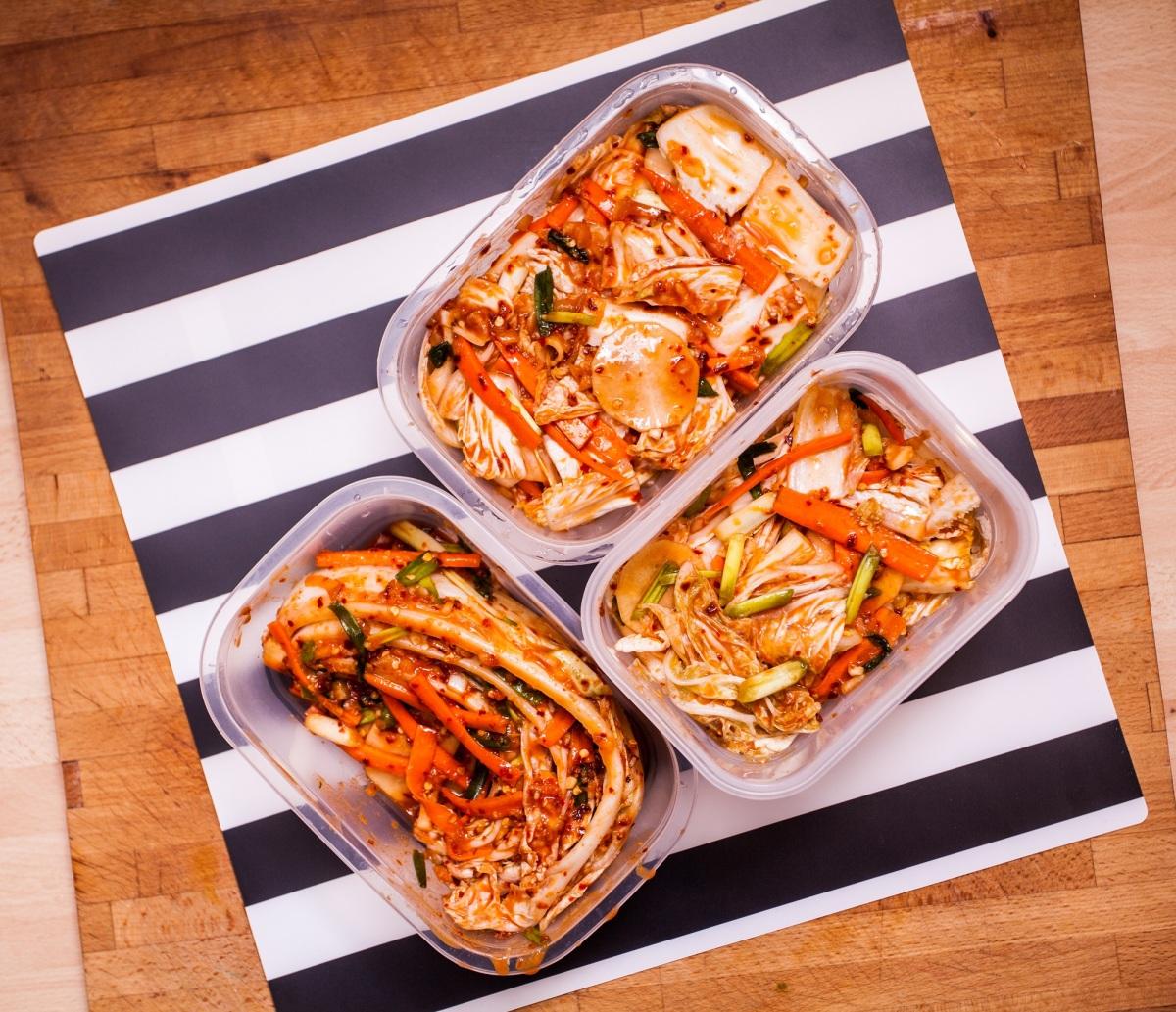 Kimchi (tongbaechu-kimchi). Przepis podstawowy