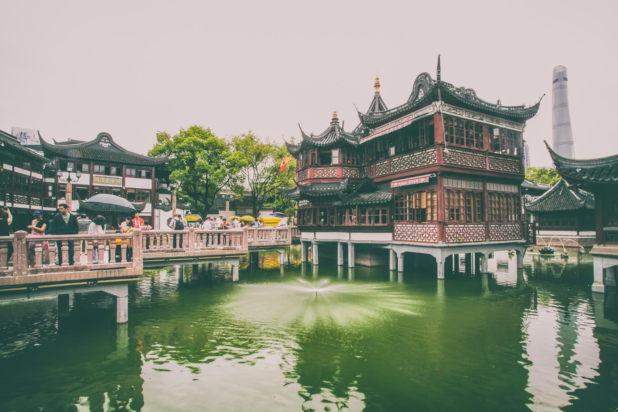 park ludowy w Szanghaju granice w relacjach randkowych