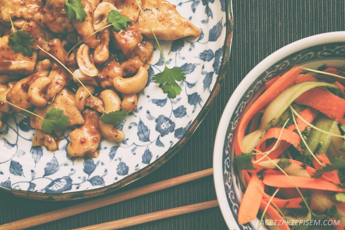 Kurczak Kung Pao (Gong Bao)