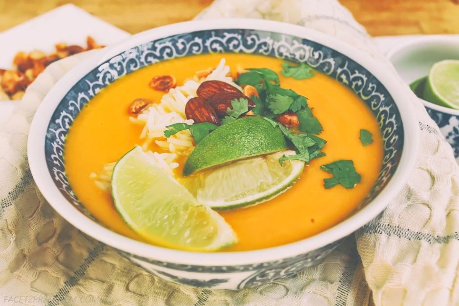 Tajska zupa-krem z marchewki i batatów